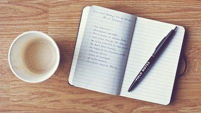 Como a escrita pode ajudar para que sua lista de resoluções de ano novo funcione!